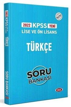Data 2022 KPSS Lise Ön Lisans Türkçe Soru Bankası