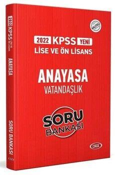 Data 2022 KPSS Lise Ön Lisans Vatandaşlık Soru Bankası