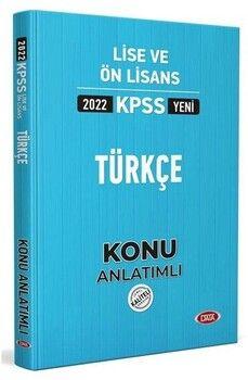 Data 2022 KPSS Lise Ön Lisans Türkçe Konu Anlatımı
