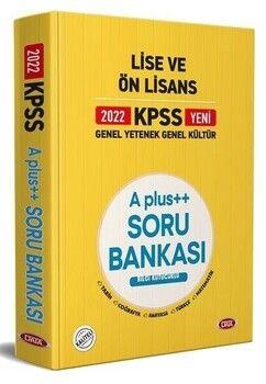 Data 2022 KPSS Lise Ön Lisans GYGK A Plus Soru Bankası