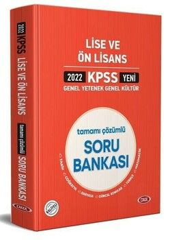 Data 2022 KPSS Lise Ön Lisans GY GK Soru Bankası