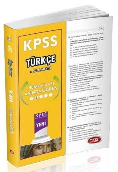 Data KPSS 2016 Türkçe Çek Kopar Yaprak Test