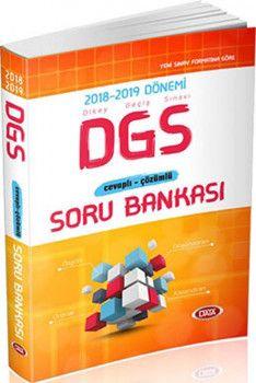 Data Yayınları 2018 2019 Dönemi DGS Soru Bankası