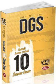 Data Yayınları 2017 DGS Tamamı Çözümlü 10 Fasikül Deneme Sınavı