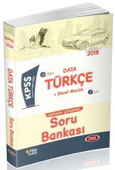 Data Yayınları 2018 KPSS Türkçe Soru Bankası
