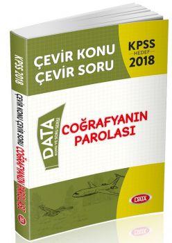 Data Yayınları 2018 KPSS Coğrafya nın Parolası Çevir Konu Çevir Soru