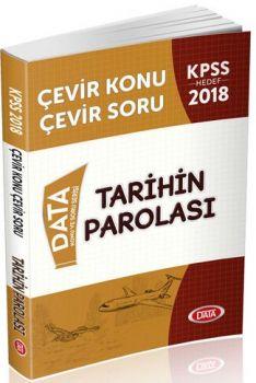 Data Yayınları 2018 KPSS Tarihin Parolası Çevir Konu Çevir Soru