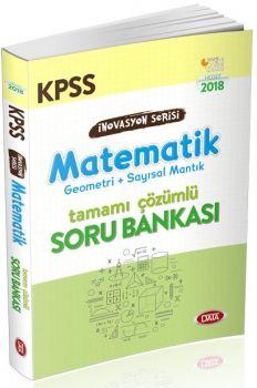 Data Yayınları 2018 KPSS İnovasyon Matematik Çözümlü Soru Bankası