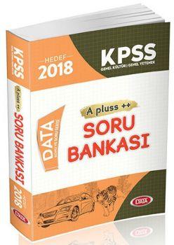 Data Yayınları 2018 KPSS Genel Yetenek Genel Kültür A Pluss Soru Bankası