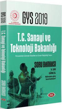 Data Yayınları 2019 GYS Bilim Sanayi ve Teknoloji Bakanlığı Soru Bankası