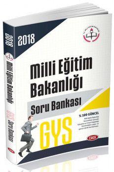 Data Yayınları 2018 GYS Milli Eğitim Bakanlığı Soru Bankası