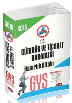 Data Yayınları 2018 GYS T.C Gümrük ve Ticaret Bakanlığı Hazırlık Kitabı