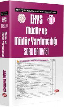 Data Yayınları 2018 MEB Müdür ve Müdür Yardımcılığı Soru Bankası