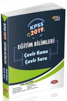 Data Yayınları 2019 KPSS Eğitim Bilimleri Çevir Konu Çevir Soru