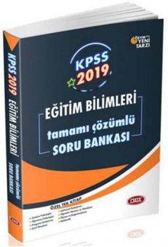 Data Yayınları 2019 KPSS Eğitim Bilimleri Tamamı Çözümlü Soru Bankası