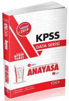 Data Yayınları 2019 KPSS Anayasa Konu Anlatımlı