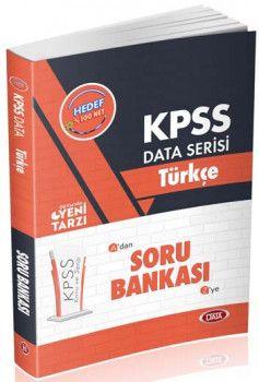 Data Yayınları 2019 KPSS Türkçe Soru Bankası