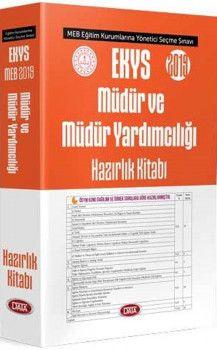 Data Yayınları 2019 EKYS Müdür ve Müdür Yardımcılığı Hazırlık Kitabı