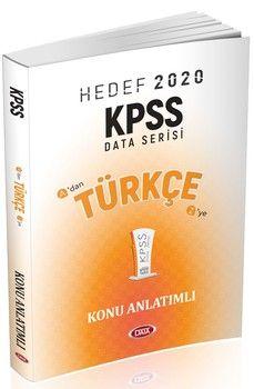 Data Yayınları 2020 KPSS Türkçe Konu Anlatımlı