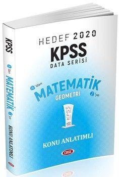 Data Yayınları 2020 KPSS Matematik Geometri Konu Anlatımlı