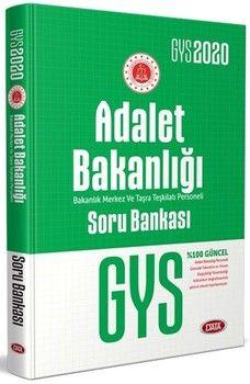Data Yayınları 2020 GYS Adalet Bakanlığı Bakanlık Merkez ve Taşra Teşkilatı Personeli Soru Bankası