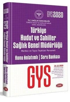 Data Yayınları 2020 GYS Türkiye Hudut ve Sahiller Sağlık Genel Müdürlüğü Konu Anlatımlı Soru Bankası