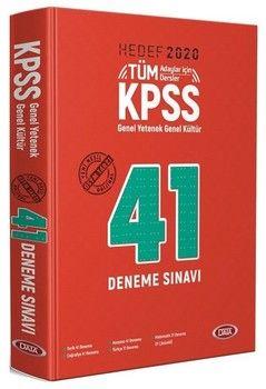 Data Yayınları 2020 KPSS Genel Yetenek Genel Kültür 41 Deneme Sınavı