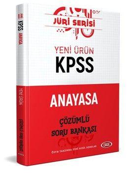 Data Yayınları 2020 KPSS Anayasa Jüri Serisi Çözümlü Soru Bankası