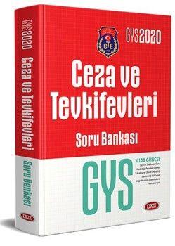 Data Yayınları 2020 GYS Ceza ve Tevkifevleri Soru Bankası