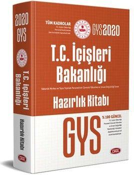 Data Yayınları 2020 GYS T.C. İçişleri Bakanlığı Tüm Kadrolar İçin Hazırlık Kitabı
