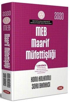 Data Yayınları 2020 MEB Maarif Müfettişliği Konu Anlatımlı Soru Bankası