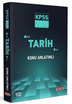 Data Yayınları 2021 KPSS Tarih Konu Anlatımlı
