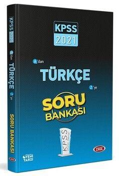 Data Yayınları 2021 KPSS Türkçe Soru Bankası