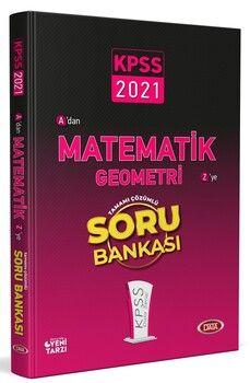 Data Yayınları 2021 KPSS Matematik Geometri Soru Bankası