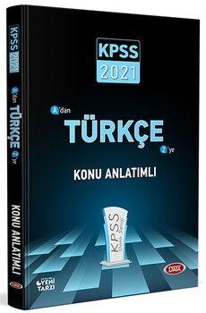 Data Yayınları 2021 KPSS Türkçe Konu Anlatımlı