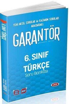 Data Yayınları 6. Sınıf Türkçe Garantör Soru Bankası