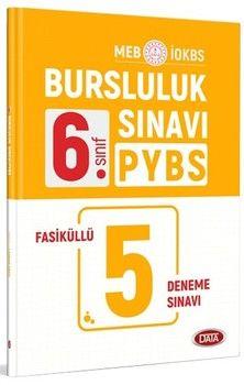 Data Yayınları 6. Sınıf PYBS İOKBS Bursluluk Sınavı 5 Fasiküllü Deneme Sınavı