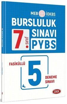 Data Yayınları 7. Sınıf PYBS İOKBS Bursluluk Sınavı 5 Fasiküllü Deneme Sınavı