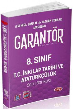 Data Yayınları 8. Sınıf T.C. İnkılap Tarihi ve Atatürkçülük Garantör Soru Bankası