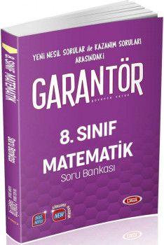 Data Yayınları 8. Sınıf Matematik Garantör Soru Bankası