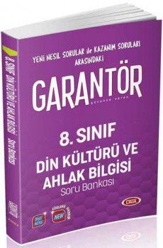 Data Yayınları 8. Sınıf Garantör Din Kültürü ve Ahlak Bilgisi Soru Bankası
