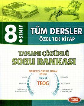Data Yayınları 8. Sınıf Tüm Dersler Tamamı Çözümlü Soru Bankası