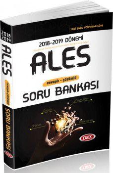 Data Yayınları ALES Cevaplı Çözümlü Soru Bankası