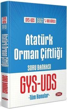 Data Yayınları Atatürk Orman Çiftliği GYS UDS Soru Bankası