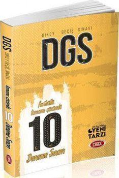 Data Yayınları DGS Fasiküllü 10 Deneme Sınavı