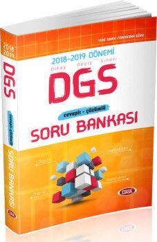 Data Yayınları DGS Cevaplı Çözümlü Soru Bankası