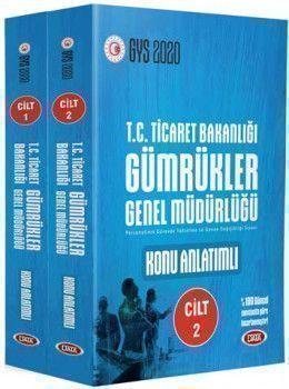 Data Yayınları GYS T.C. Ticaret Bakanlığı Gümrükler Genel Müdürlüğü Konu Anlatımlı Hazırlık Kitabı 1 2