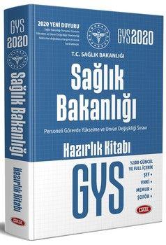 Data Yayınları GYS Sağlık Bakanlığı ve Bağlı Kuruluşları Görevde Yükselme Sınavı Hazırlık Kitabı