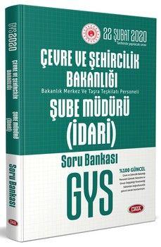 Data Yayınları GYS Çevre ve Şehircilik Bakanlığı İdari Şube Müdürü Soru Bankası
