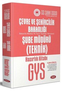 Data Yayınları GYS Çevre ve Şehircilik Bakanlığı Teknik Şube Müdürü Hazırlık Kitabı